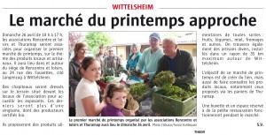 L'Alsace du 16-04-2015